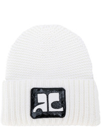 Courreges Courrges Logo Patch Beanie
