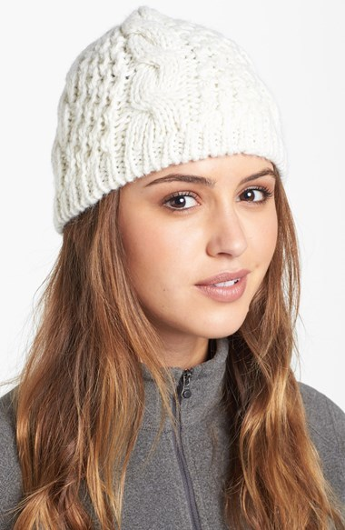... The North Face Minna Cable Knit Beanie ... 720dc25f405