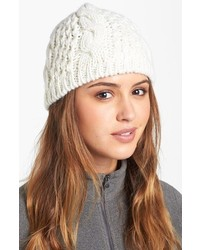 The North Face Minna Cable Knit Beanie Red