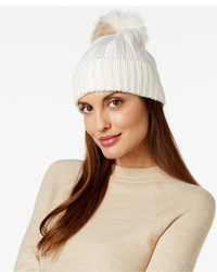 BCBGeneration Two Tone Pom Pom Beanie
