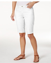 NYDJ Christy Twill Bermuda Shorts
