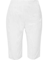 16Arlington Cotton Blend Moire Shorts