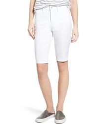 NYDJ Petite Stretch Twill Bermuda Shorts