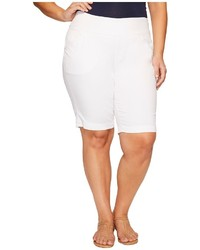 Jag Jeans Plus Size Plus Size Ainsley Classic Fit Bermuda In Bay Twill Shorts