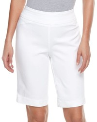 croft & barrow Pull On Stretch Bermuda Shorts