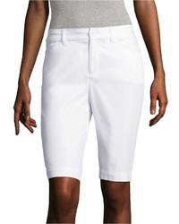 St Johns Bay St Johns Bay Secretly Slender 11 Bermuda Shorts