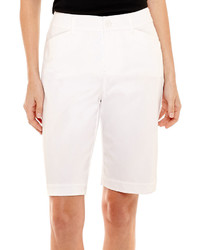 St Johns Bay St Johns Bay Secretly Slender Bermuda Shorts