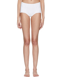 Dolce & Gabbana Dolce And Gabbana White High Waisted Bikini Bottoms