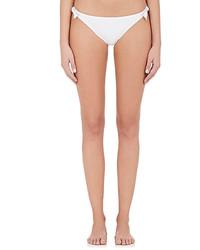 Kisuii Microfiber Side Tie Bikini Bottom