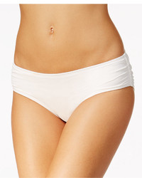 MICHAEL Michael Kors Michl Michl Kors Essential Shirred Bikini Bottoms