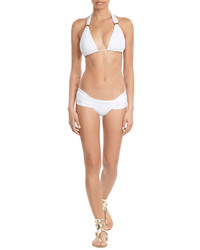 OndadeMar Ruched Wide Side Bikini Bottoms
