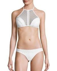 Zimmermann Zephyr Two Piece Bonded Lace Bikini Top Bottom