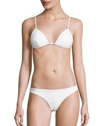 Zimmermann Zephyr Two Piece Bonded Tri Bikini Top Bottom