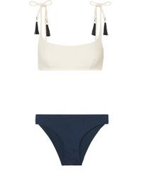 Emma Pake Aurora Fia Tasseled Bikini