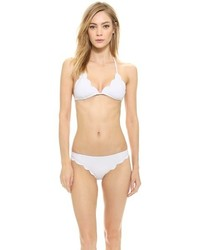 Marysia Swim Broadway Scallop Bikini Top