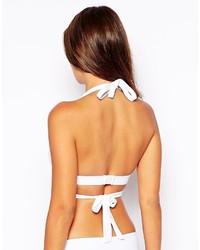 dfcf24c8cbe ... Asos Collection Fuller Bust Molded Triangle Wrap Bikini Top Dd G ...