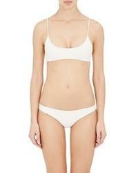 Mikoh Hermosa Bikini Top White