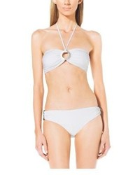 Michael Kors Michl Kors Logo Ring Bandeau Bikini