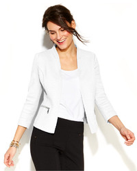 Alfani Textured Zip Pocket Blazer