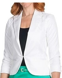 Amanda Chelsea Cotton Sateen Blazer