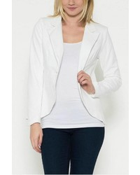 Esley Collection White Blazer