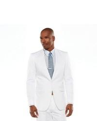 Apt. 9 Extra Slim White Suit Jacket