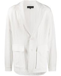 Ann Demeulemeester Flap Pocket Oversize Blazer