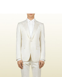 Gucci White Marseille Evening Jacket