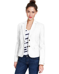 Tommy Hilfiger Long Sleeve Double Button Blazer