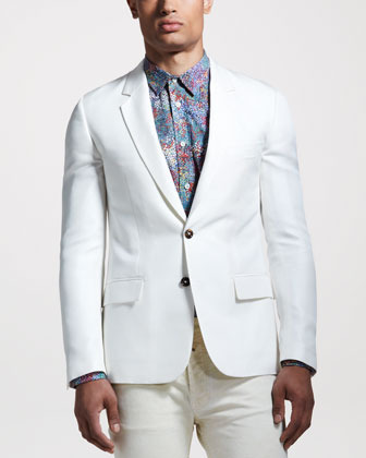 Maison Martin Margiela Silk Sport Coat | Where to buy & how to wear