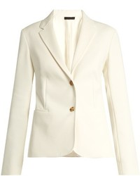 The Row Malchoy Stretch Crepe Blazer