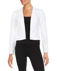 Andrew Marc Marc New York Cotton Blend Open Front Blazer