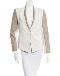 Helmut Lang Mixed Media Blazer