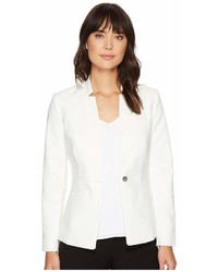 Vince Camuto One Button Notch Collar Blazer Jacket