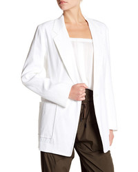 DKNY Oversized Notch Collar Blazer