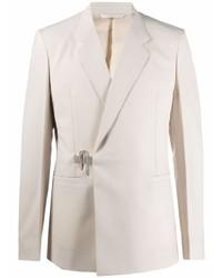 Givenchy Padlock Detail Wool Blazer