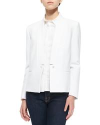 J Brand Ready To Wear Emily Long Sleeve Crepe Blazer