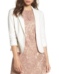 Ruched sleeve blazer medium 6368420