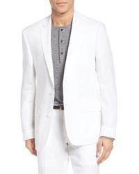 Nordstrom Shop Trim Fit Linen Blazer