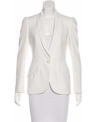 Alexander McQueen Structured Fitted Blazer