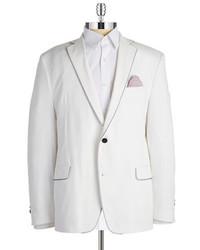 Tallia Orange 2 Button Cotton Blazer