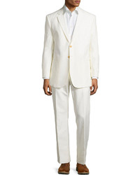 Armani Collezioni Taylor Two Button Suit Ivory