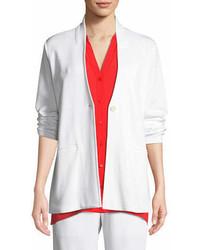 Eileen Fisher Tencel Ponte Knit Easy Blazer