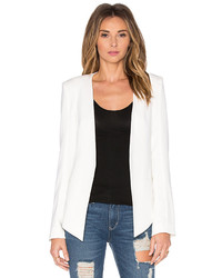 James Jeans V Boyfriend Blazer In White Size Xs