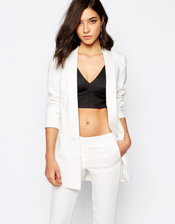 Warehouse White Tailored Blazer | Where to buy & how to wear