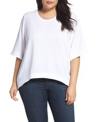 Melissa McCarthy Plus Size Seven7 Highlow Top