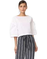 3.1 Phillip Lim Wide Sleeve Ruched Top