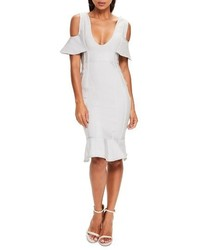 Cold shoulder bandage dress medium 4154783