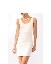 Forever 21 Pintucked Bodycon Dress