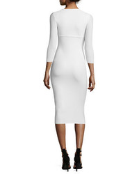 La petite robe custom collection serenity 34 sleeve body conscious dress medium 3698165